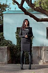 Šaty - FNDLK úpletové šaty 432 NuVdL - 11190156_