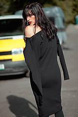 Šaty - FNDLK úpletové šaty 432 NuVdL - 11190161_