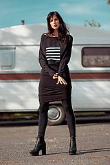 Šaty - FNDLK úpletové šaty 433 NuVdL - 11190189_