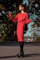 Šaty - FNDLK úpletové šaty 434 NuVdL - 11190239_