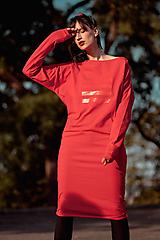Šaty - FNDLK úpletové šaty 434 NuVdL - 11190240_