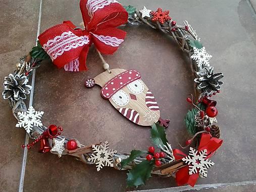 Vianočné srdiečko soví
