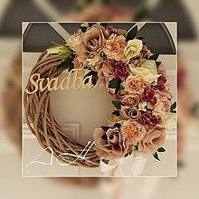 Dekorácie - svadobný venček - 11190807_