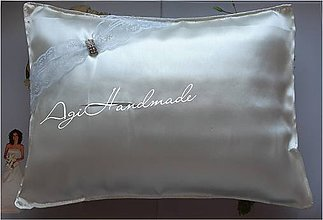 Úžitkový textil - vankúšik k odobierke od rodičov - 11191609_