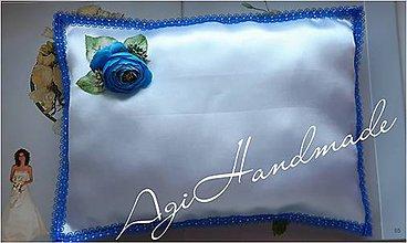 Úžitkový textil - vankúšik k odobierke od rodičov - 11191639_