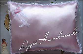 Úžitkový textil - vankúšik k odobierke od rodičov - 11191678_