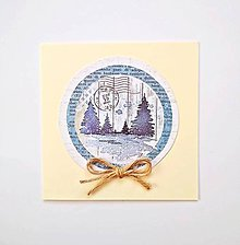 Papiernictvo - Pohľadnica vianočná * pozdrav - 11191250_