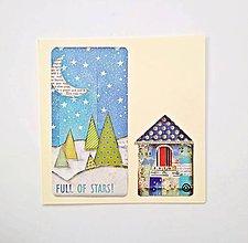 Papiernictvo - Pohľadnica vianočná * pozdrav - 11191295_