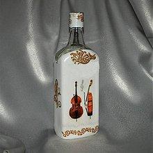 Iné - Darčeková fľaša pre hráča na basu - 11191459_