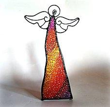 Dekorácie - Anjelská dekorácia / tienidlo - 11189735_