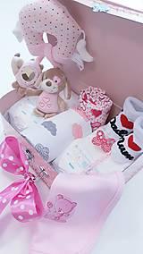 Detské doplnky - Plienková torta v kufríku Girl - 11189214_