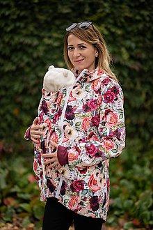 Kabáty - Nosičská bunda na dojčenie - 11191271_