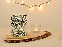 Papiernictvo - Vianočná pohľadnica - 11190143_