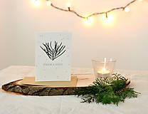 Papiernictvo - Vianočná pohľadnica - 11190266_