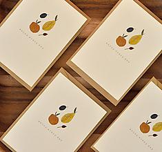 Papiernictvo - Pohľadnica - ovocie - 11190297_