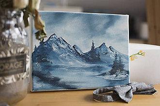 Obrazy - Mini maľba hôr 2 - 11190414_