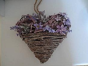 Drobnosti - Závesné srdce - 11190900_