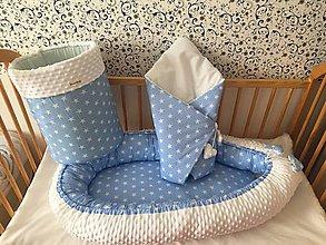 Textil - Detské hniezdo, zavinovačka,kôš na hračky - 11191694_