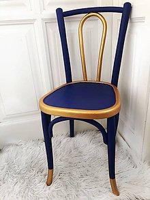 Nábytok - Stolička Blue crown - 11191844_