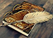 Papiernictvo - Luxusný receptár/Receptár/ Rodinný receptár/Kuchárska kniha/Zápisník receptov - 11189292_