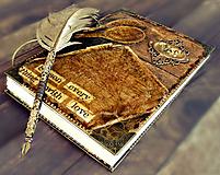 Papiernictvo - Luxusný receptár/Receptár/ Rodinný receptár/Kuchárska kniha/Zápisník receptov - 11189296_