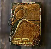 Papiernictvo - Luxusný receptár/Receptár/ Rodinný receptár/Kuchárska kniha/Zápisník receptov - 11189473_