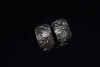 Náušnice - obdélníčky - 11191095_