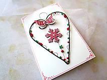 Papiernictvo - Pohľadnica dvojdielna vianočná - 11190044_