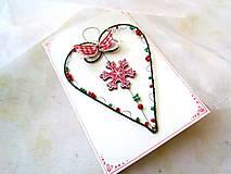 Papiernictvo - Pohľadnica dvojdielna vianočná - 11190046_