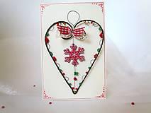 Papiernictvo - Pohľadnica dvojdielna vianočná - 11190048_