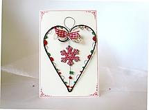 Papiernictvo - Pohľadnica dvojdielna vianočná - 11190049_