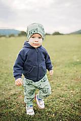 Detské oblečenie - Tepláky medveď - 11193140_