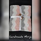 Textil - Háčkovaná detská deka - 11194200_