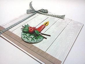 Papiernictvo - Pohľadnica ... čarokrásne Vianoce IV - 11195152_