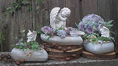 Dekorácie - spomienkové dekorácie na objednávku - V rajskej záhradke - 11193082_