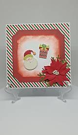 Drobnosti - Vianočná pohľadnica - 11193913_