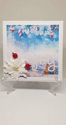 Drobnosti - Vianočná pohľadnica - 11193792_