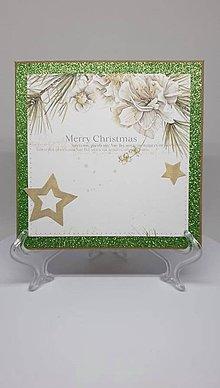 Drobnosti - Vianočná pohľadnica - 11193839_