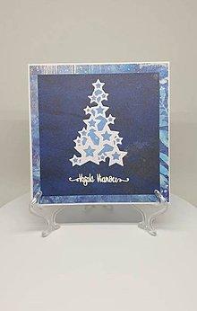 Drobnosti - Vianočná pohľadnica - 11193849_