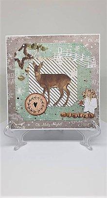 Drobnosti - Vianočná pohľadnica - 11193873_
