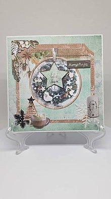 Drobnosti - Vianočná pohľadnica - 11193874_