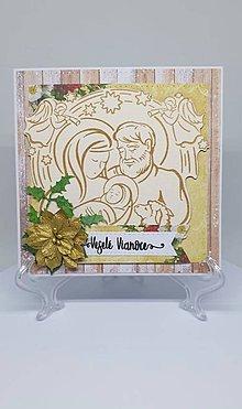 Drobnosti - Vianočná pohľadnica - 11193879_