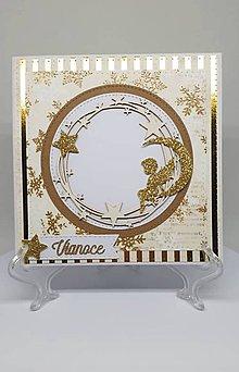 Drobnosti - Vianočná pohľadnica - 11193900_