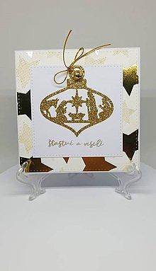 Drobnosti - Vianočná pohľadnica - 11193915_