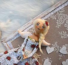 Bábiky - Vianočný anjelik - 11194408_