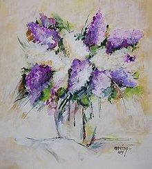 Obrazy - Kvety mája - 11194348_