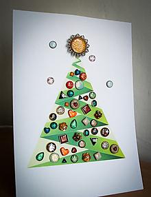 Sady šperkov - Adventný kalendár z napichovačiek ( 24 kusov) - 11193057_