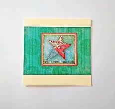 Papiernictvo - Pohľadnica vianočná * pozdrav - 11193925_