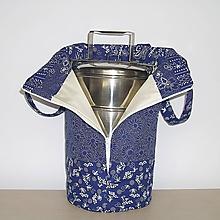 Iné tašky - Taška na obedár modrotlač - 11194115_