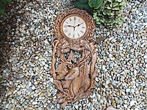 Hodiny - Vyrezávané hodiny - 11193103_